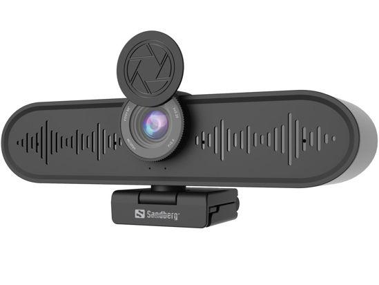 Picture of Sandberg All-in-1 ConfCam 4K (134-24) Black, spletna kamera