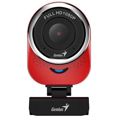 Genius qCam 6000 Full HD Red, spletna kamera