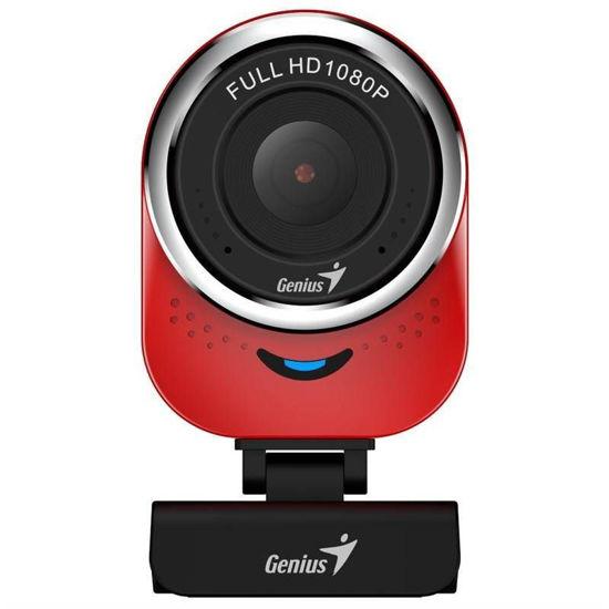 Picture of Genius qCam 6000 Full HD Red, spletna kamera