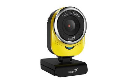 Genius qCam 6000 Full HD Yellow, spletna kamera